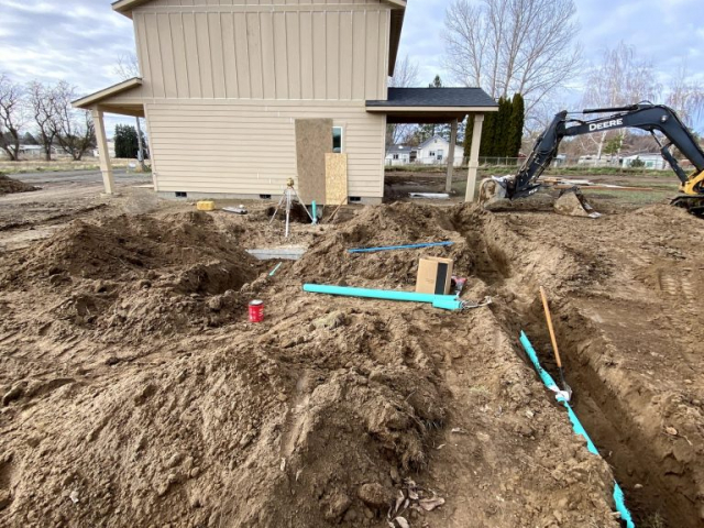 new septic system install in walla walla
